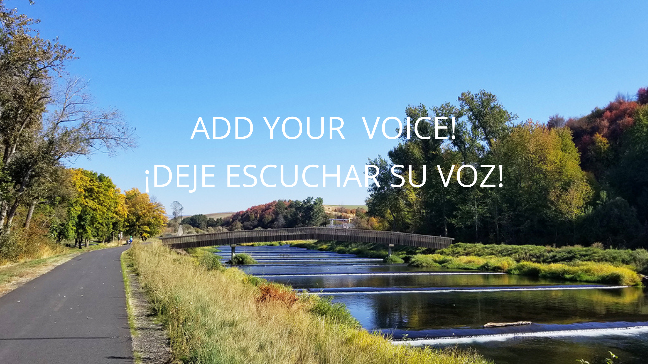 ADD YOUR VOICE!